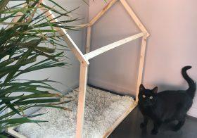 Une Cabane scandinave pour mon chaton !