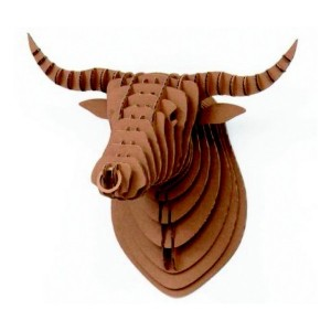 tete-de-taureau-deco-design-carton-recycle-crembo
